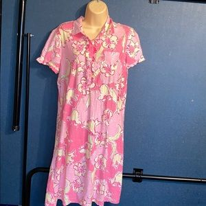 Lilly Pulitzer size large summer dress